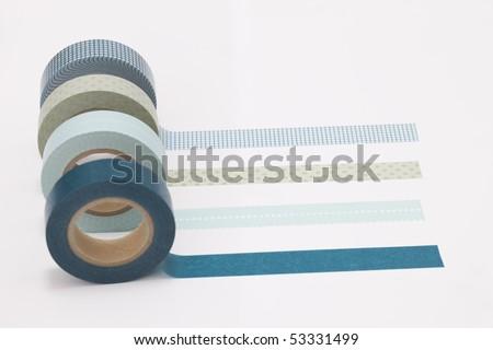 Masking tape - stock photo