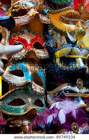 Masks - stock photo