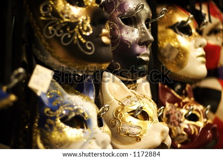 Masks of the Venice Carnaval