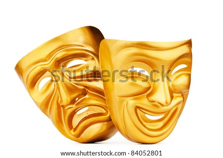 Masks with the theater concept