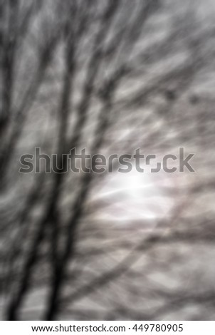 Maslenitsa theme creative abstract blur background with bokeh effect - stock photo