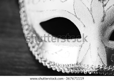 Masquerade mask - stock photo