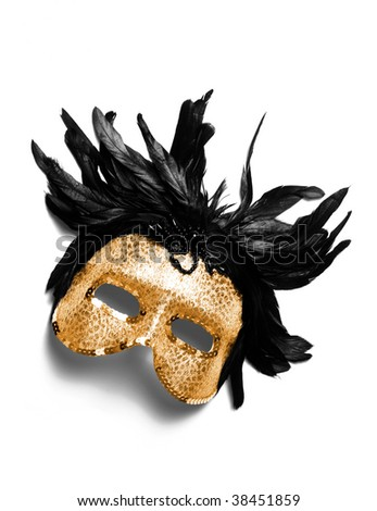 Masquerade Mask . Happy New Year ! Party accessories