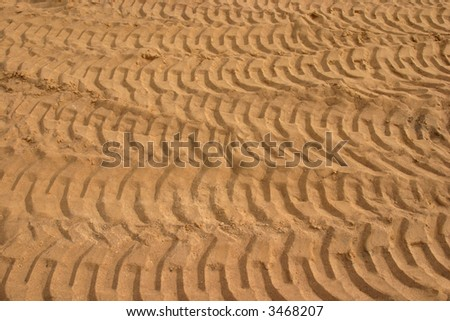 Mass of granulated sand as a textured background