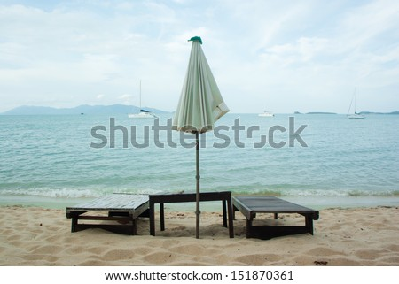 Massage on the beach, Samui.