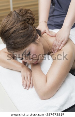 Massage series : Oil massage