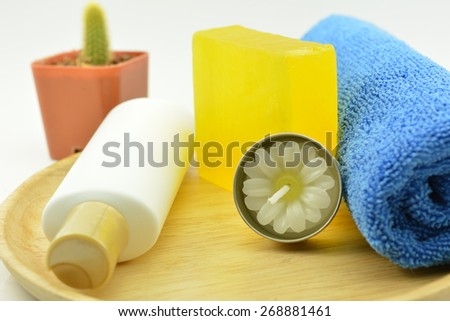 Massage soap and gel for spa