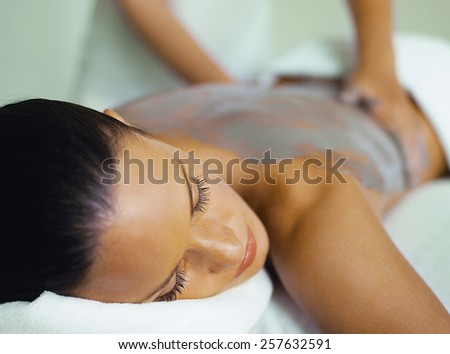 Massage spa - stock photo