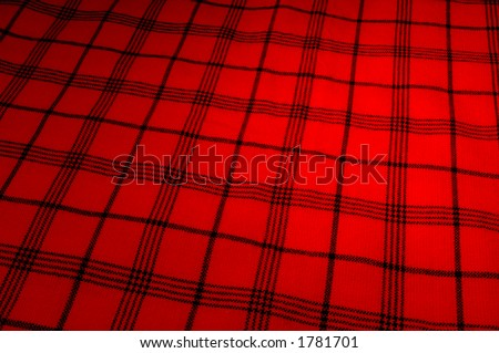 Massai Shuka or blanket - stock photo