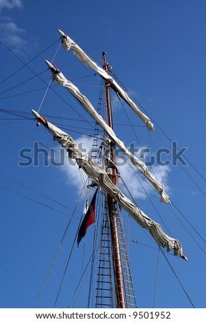 Mast - stock photo