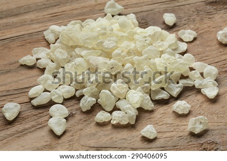 mastic tears of Chios   - stock photo