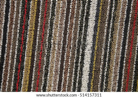 Mat carpet texture fabric background