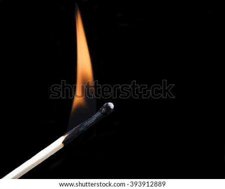 match set on fire
