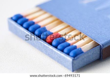 matchbox - stock photo