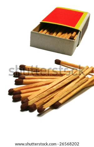 matches and matchbox