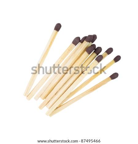 Matches Cutout - stock photo