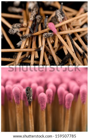 matches set - stock photo