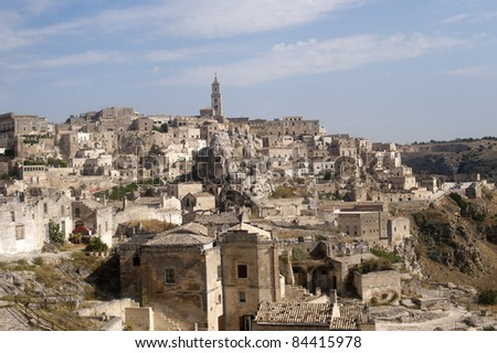 Matera (Basilicata, Italy) - The Old Town (Sassi), Unesco World Heritage Site