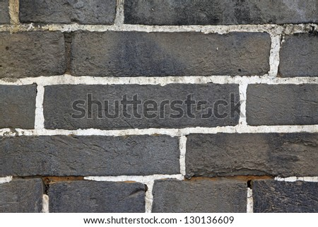 material pictures - grey brick wall