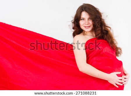 Maternity Expects 9th Month  - stock photo