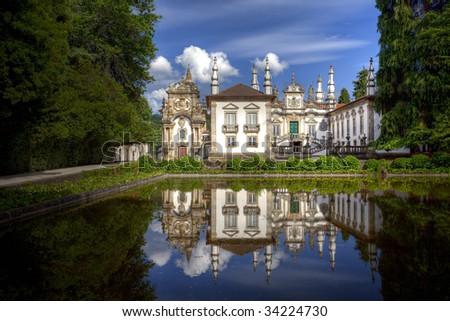 Mateus Palace - stock photo