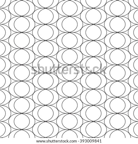 Mathematical monochrome black and white pattern. Monochrome geometric ornaments for wallpaper, pattern fills, web page background, surface textures.  - stock photo