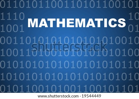 Mathematics School Course Series Class Abstract Background