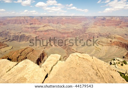 Mathers Point vast view of the Grand Canyon - stock photo