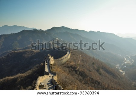 Matianyu Great Wall - Xian, China