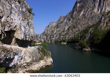 Matka canyon - Macedonia - stock photo