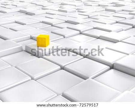 Matrix - stock photo