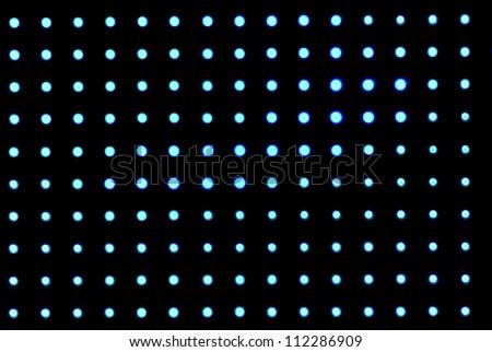 Matrix lighting - stock photo