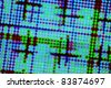 Matrix of Defocused LEDs - Abstract Electronics Themed Background - stock photo