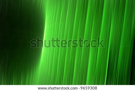 Matrix Walls Fractal Illustration - stock photo