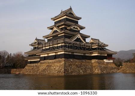 Matsumoto Castle, Matsumoto, Japan - stock photo