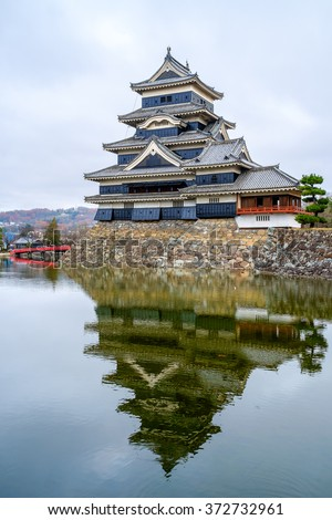 Matsumoto Castle with Reflection