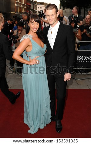Matt Smith and Laura Jayne arriving for the 2013 GQ Men Of The Year Awards, at the Royal Opera House, London. 03/09/2013