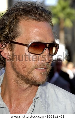 Matthew McConaughey at The 2006 ESPYS Awards - ARRIVALS, The Kodak Theatre, Los Angeles, CA, July 12, 2006