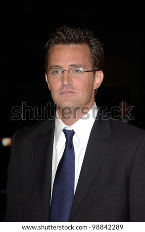 MATTHEW PERRY at the 30th Annual People's Choice Awards in Pasadena, CA. January 11, 2004  Paul Smith / Featureflash