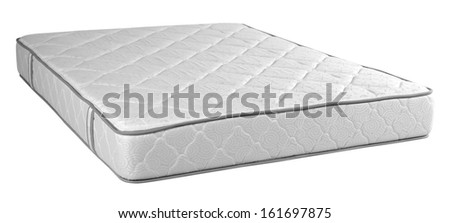 Mattress. Isolated - stock photo