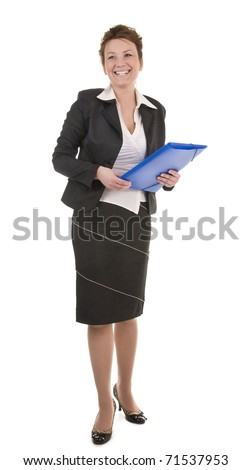 Mature And Confident Business Woman - stock photo