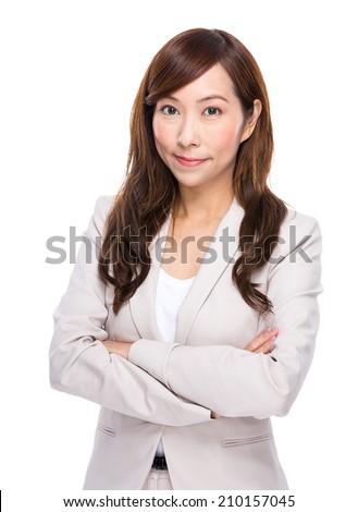 Mature businesswoman - stock photo