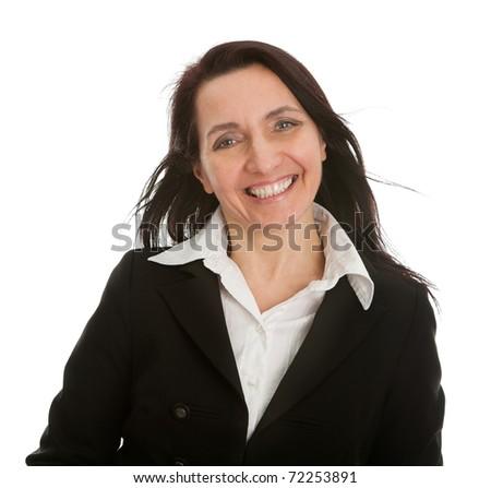 Mature successful businesswoman - stock photo