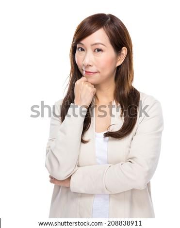 Mature woman - stock photo
