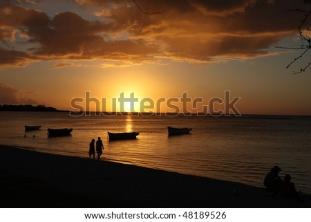 Mauritian Sunset
