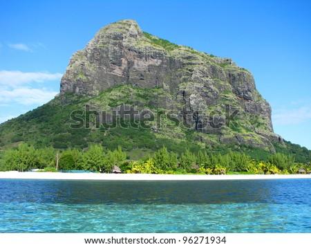 Mauritius island - stock photo