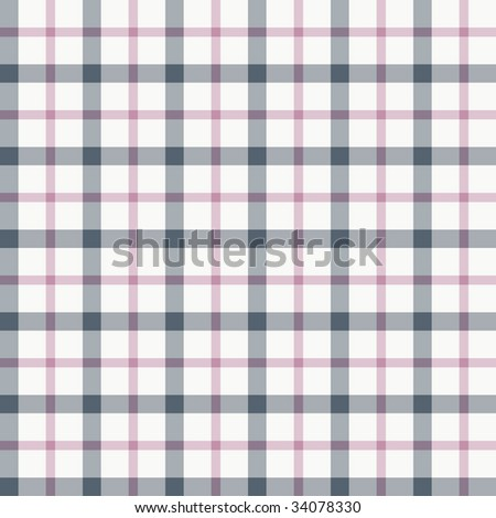 Mauve, blue and gray trendy seamless plaid pattern