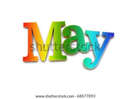 may - stock photo