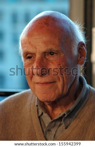 MAY 24, 2005 - BERLIN: Ivan Nagel at the official opening of the new Art Academy (Akademie der Kuenste) in Berlin.