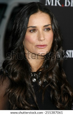 """May 22, 2007. Demi Moore attends the Los Angeles Premiere of """"Mr. Brooks"""" held at the Grauman's Chinese Theater in Hollywood, California United States.  - stock photo"""
